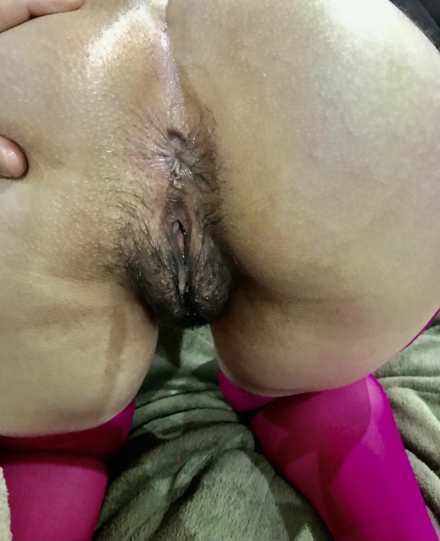 Fotos de la concha y la cola de mi esposa